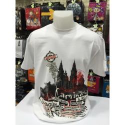 Camiseta catedral Santiago de Compostela