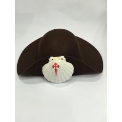 Sombrero peregrino fieltro